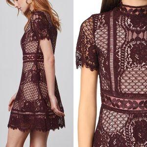 NWT BB DAKOTA  Short Sleeves Lace Dress